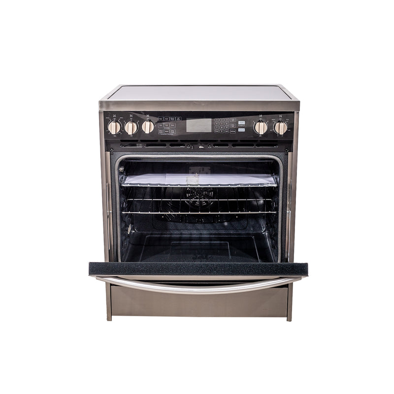 Hisense 30' Electric Stove HER30FSC Stainless steel (3)