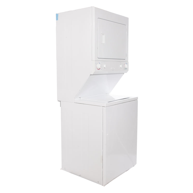 ElectroLux 27' Stacked Laundry Center MEX731CAS3 White (1)