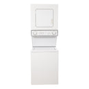 Whirlpool 24 Thin Twin Stacked Laundry Center YLTE5243DQ6 White