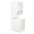 Whirlpool 24 Thin Twin Stacked Laundry Center YLTE5243DQ6 White (1)
