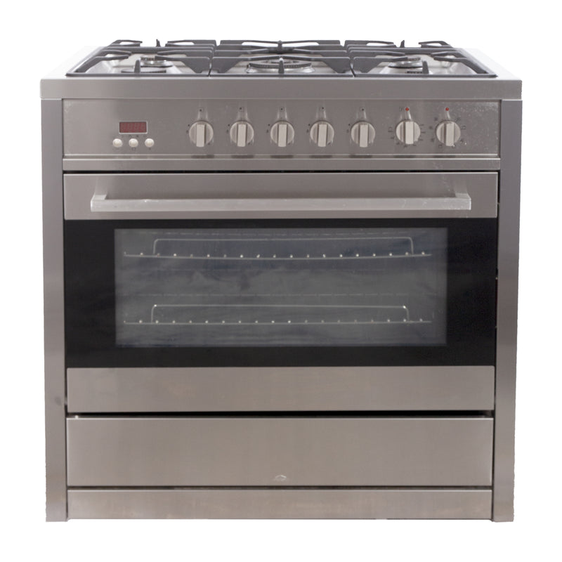 35.5 Ancona Gas Stove NN-2200 Stainless Steel
