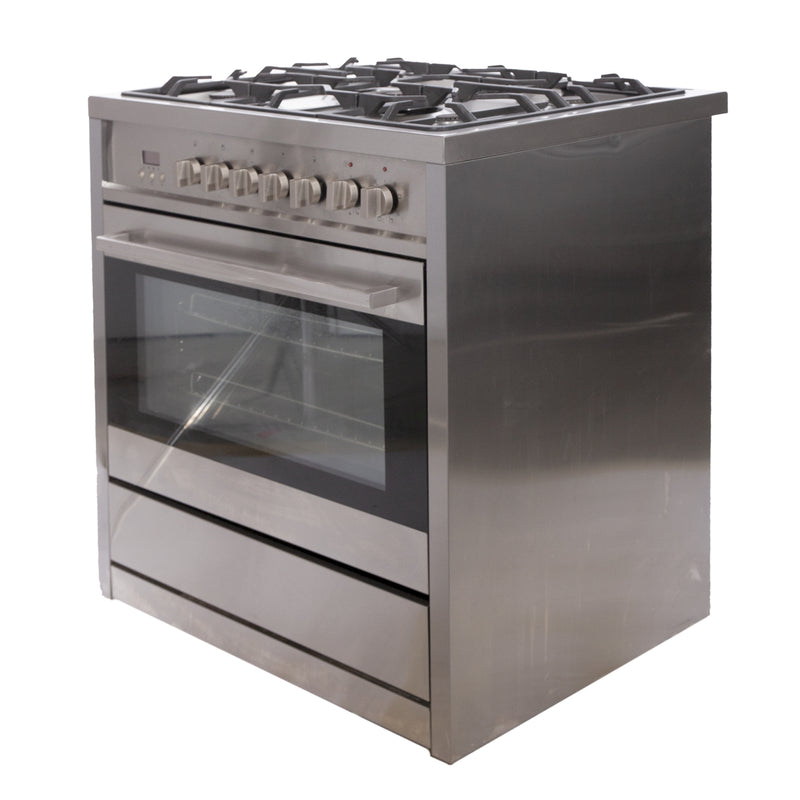 35.5 Ancona Gas Stove NN-2200 Stainless Steel (1)