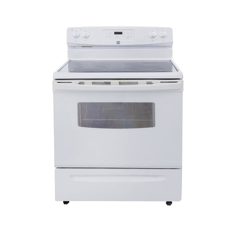 Kenmore 29.5' Electric Stove 970606122 White