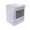 Whirlpool 36.5' Aqualift Electric Stove YWEE730H0DS0 White (1)