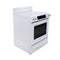 KitchenAid 30' Electric Stove YKEDS807SP01 White (1)