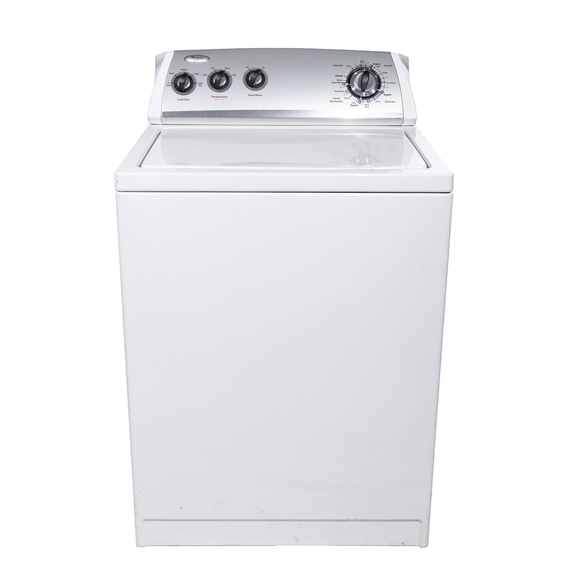 Whirlpool 27' Washers (Top Load) WTW5300VW2 White