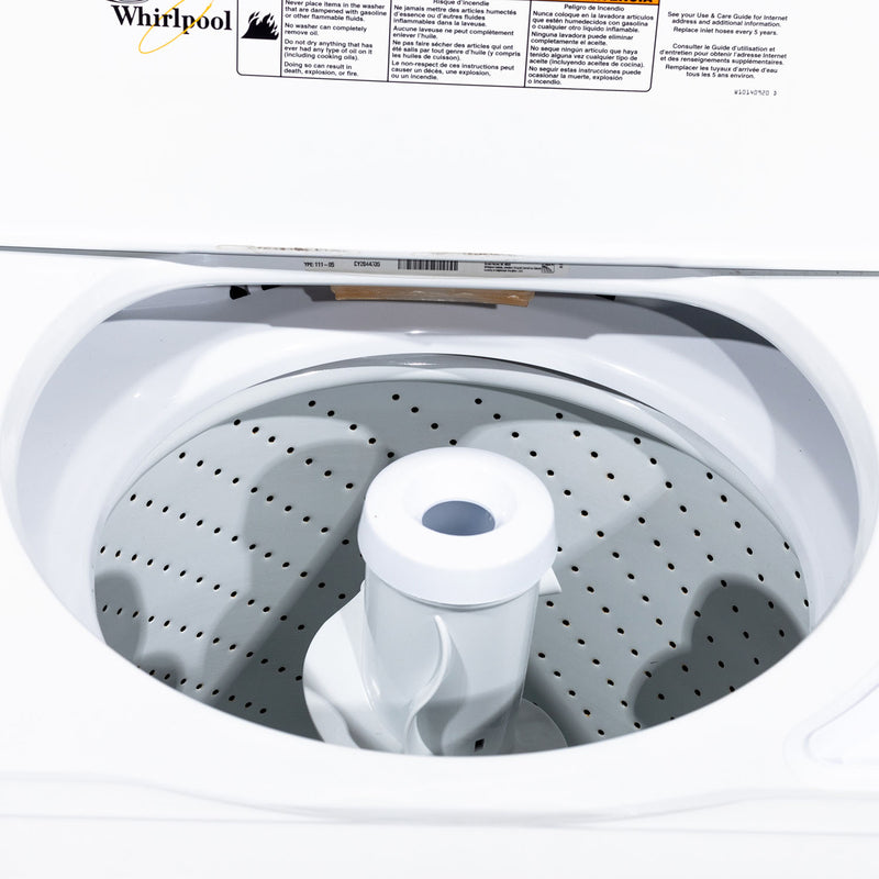 Whirlpool 27' Washers (Top Load) WTW5300VW2 White (2)