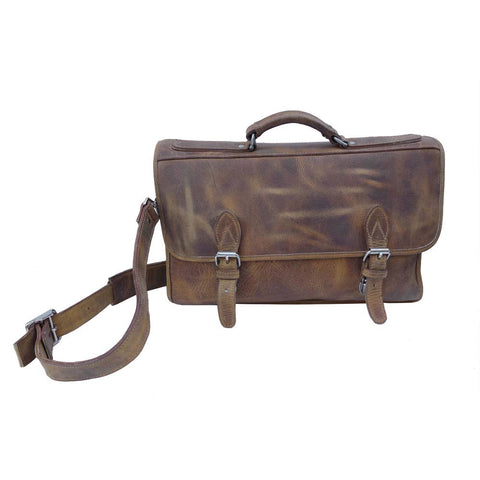 Double Gusset Briefcase 805