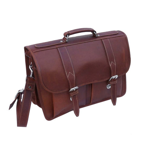 Double Gusset Briefcase 801