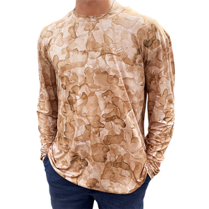 Open image in slideshow, Sand Camo Performance Shirt