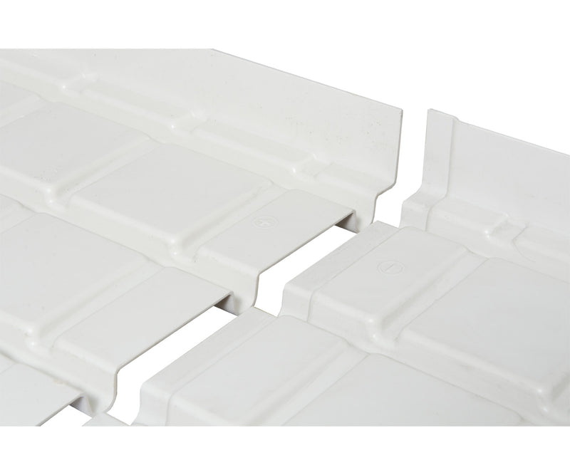 Active Aqua Infinity Tray Center with Drain 4'x8' Plus (+) & Minus (-)