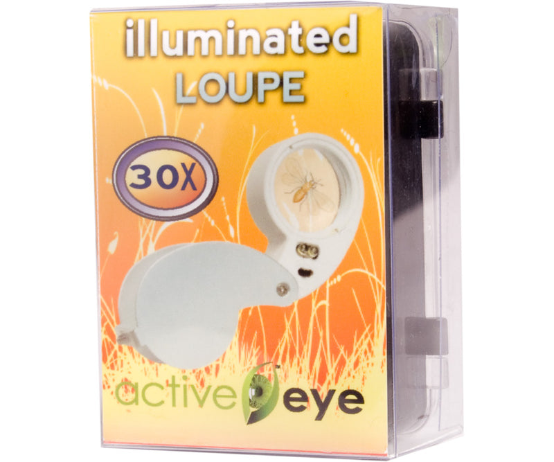 Active Eye Lighted Loupe, 30x
