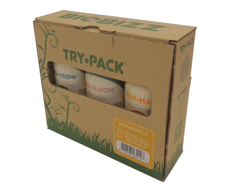 Try-Pack Indoor Pack, pack of 3 (250 ml ea)