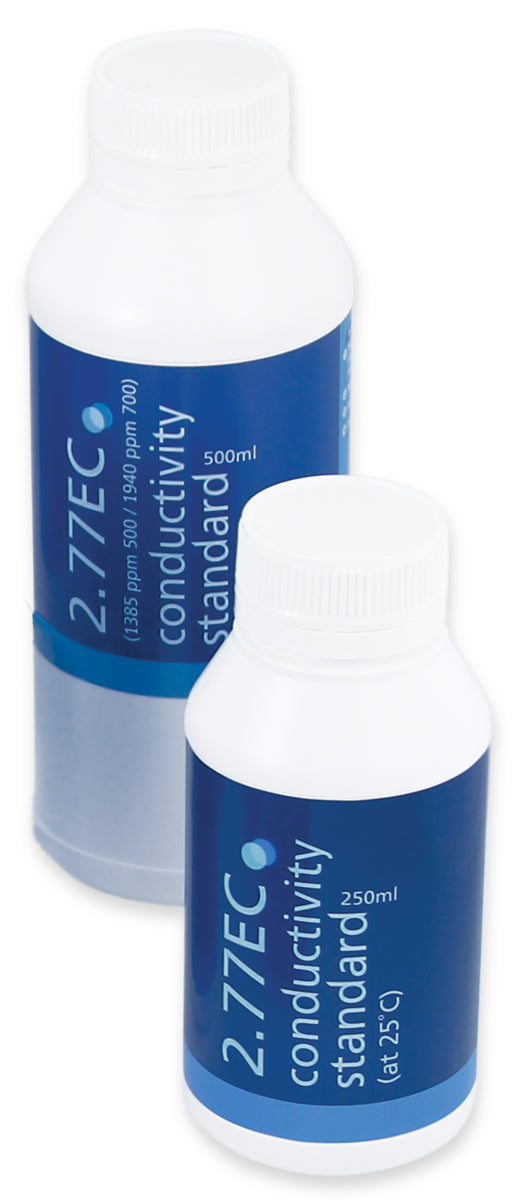 Bluelab 2.77 EC Conductivity Solution, 250 ml, case of 6