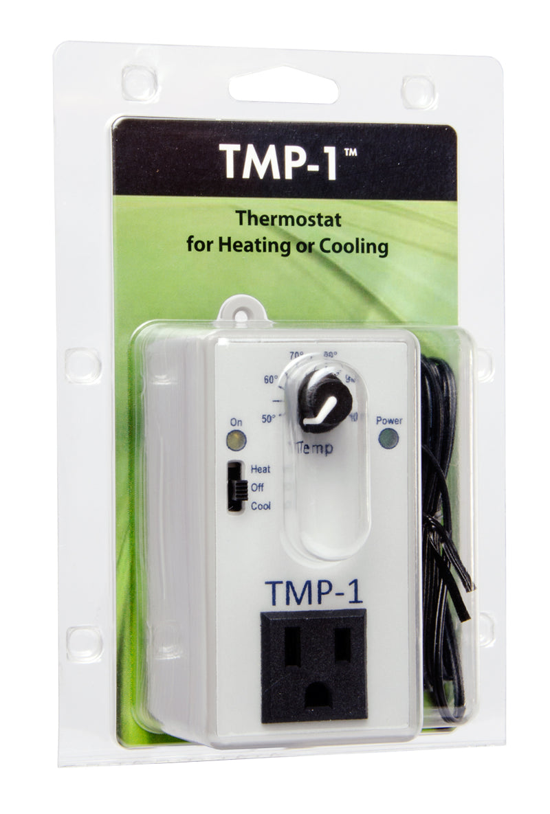 TMP-1 Cooling & Heating Controller, 50-115F, 15A @ 120V