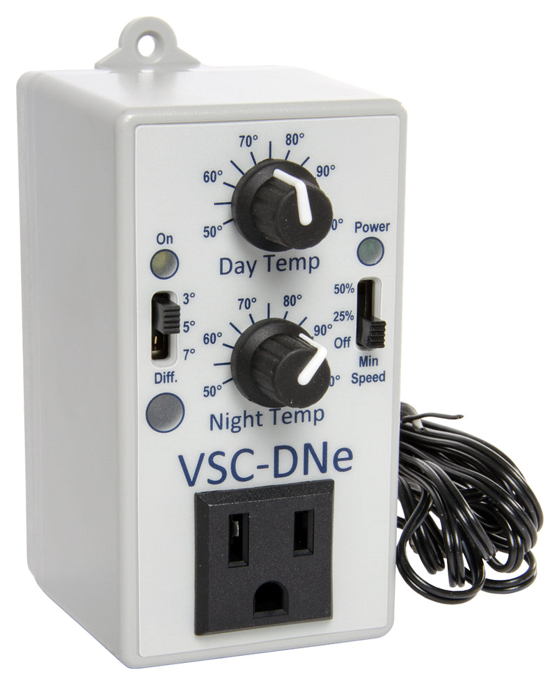 VSC-DNe Day/Night Adjustable Fan Speed Controller