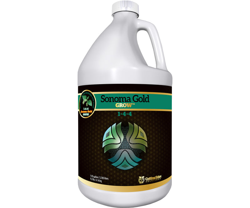 Cutting Edge Solutions Sonoma Gold Grow, 1 gal