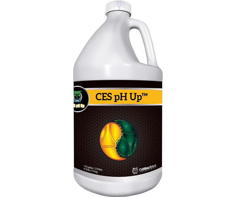 Cutting Edge Solutions pH Up, 1 gal, case of 4