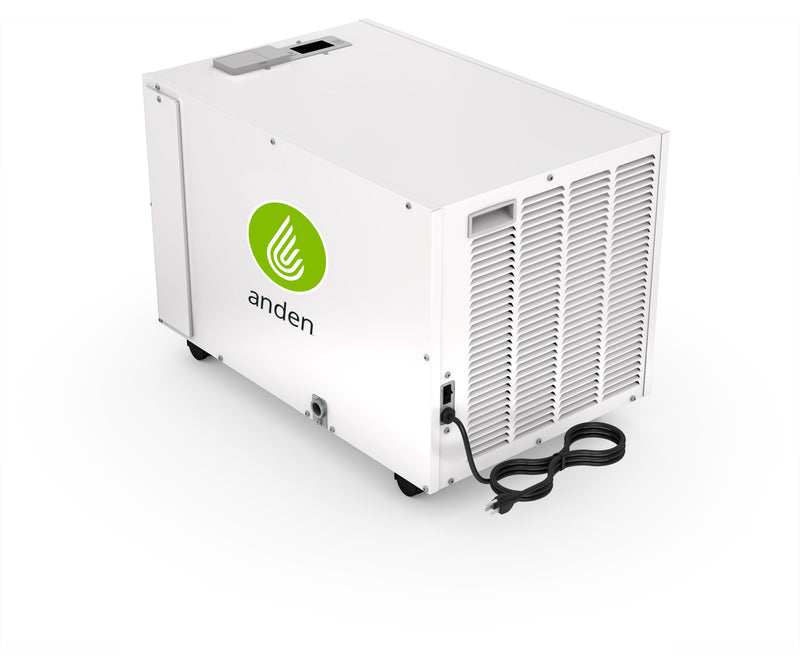 Anden Dehumidifier, Movable, 130 Pints/Day