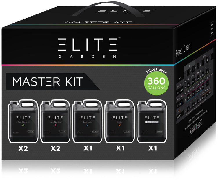 Elite Garden Nutrients Master Kit - A Hydrofarm Exclusive!