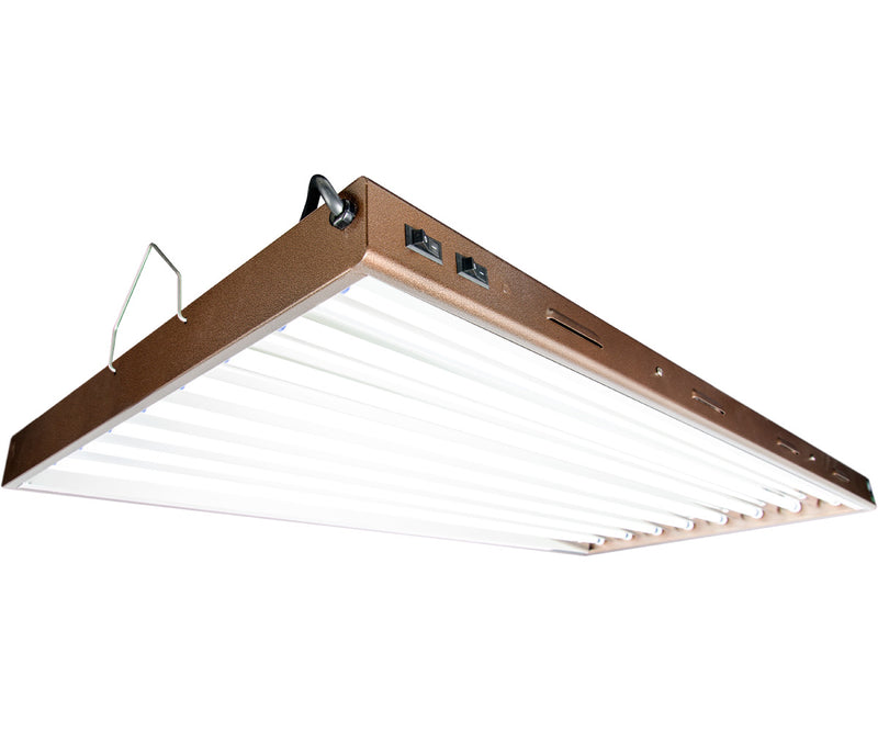 Agrobrite Designer T5 432W 4' 8-Tube Fixture with Lamps