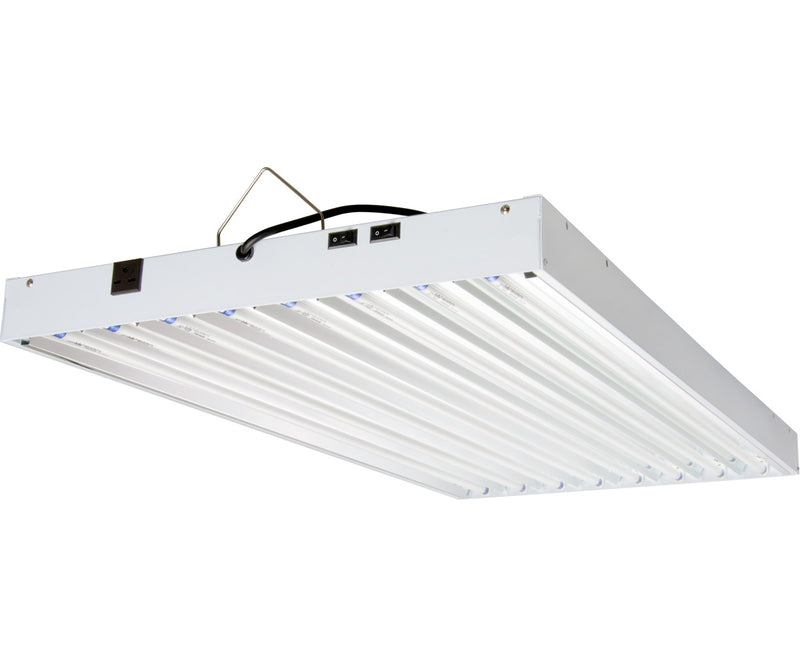 Agrobrite T5 432W 4' 8-Tube Fixture with Lamps, 240V