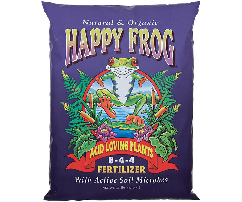 FoxFarm Happy Frog Acid-Loving Plants Fertilizer, 18 lbs