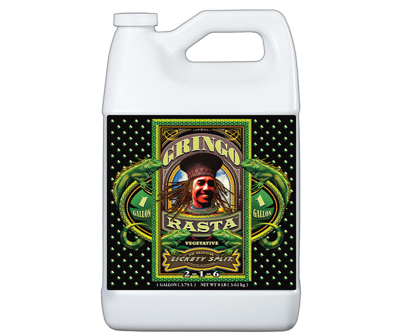 FoxFarm Gringo Rasta® Lickety Split® Liquid Plant Food, 1 gal