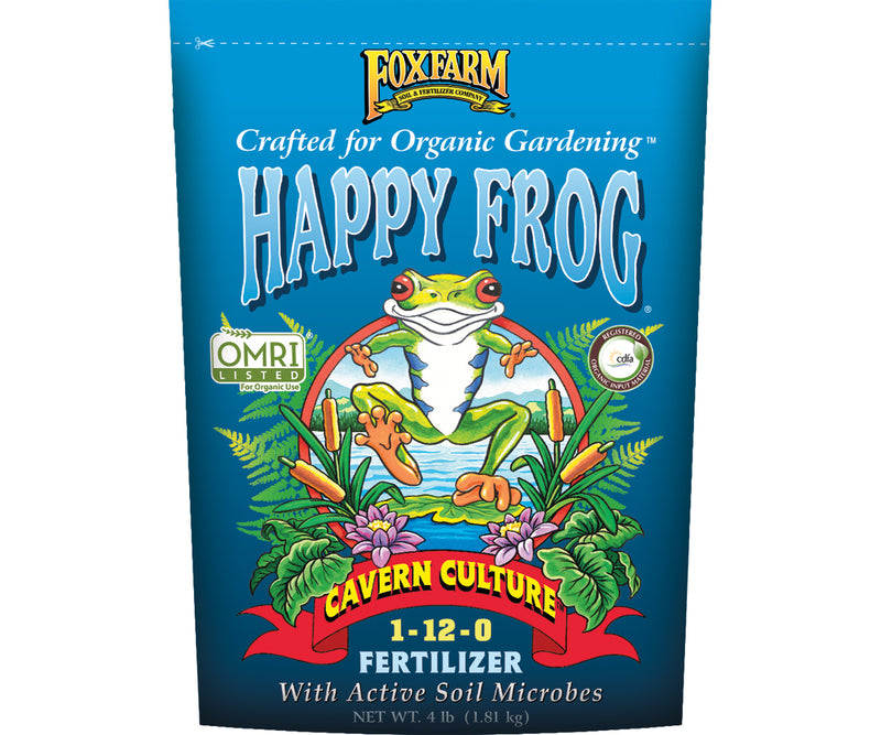 FoxFarm Happy Frog® Cavern Culture™ Fertilizer, 4 lb bag
