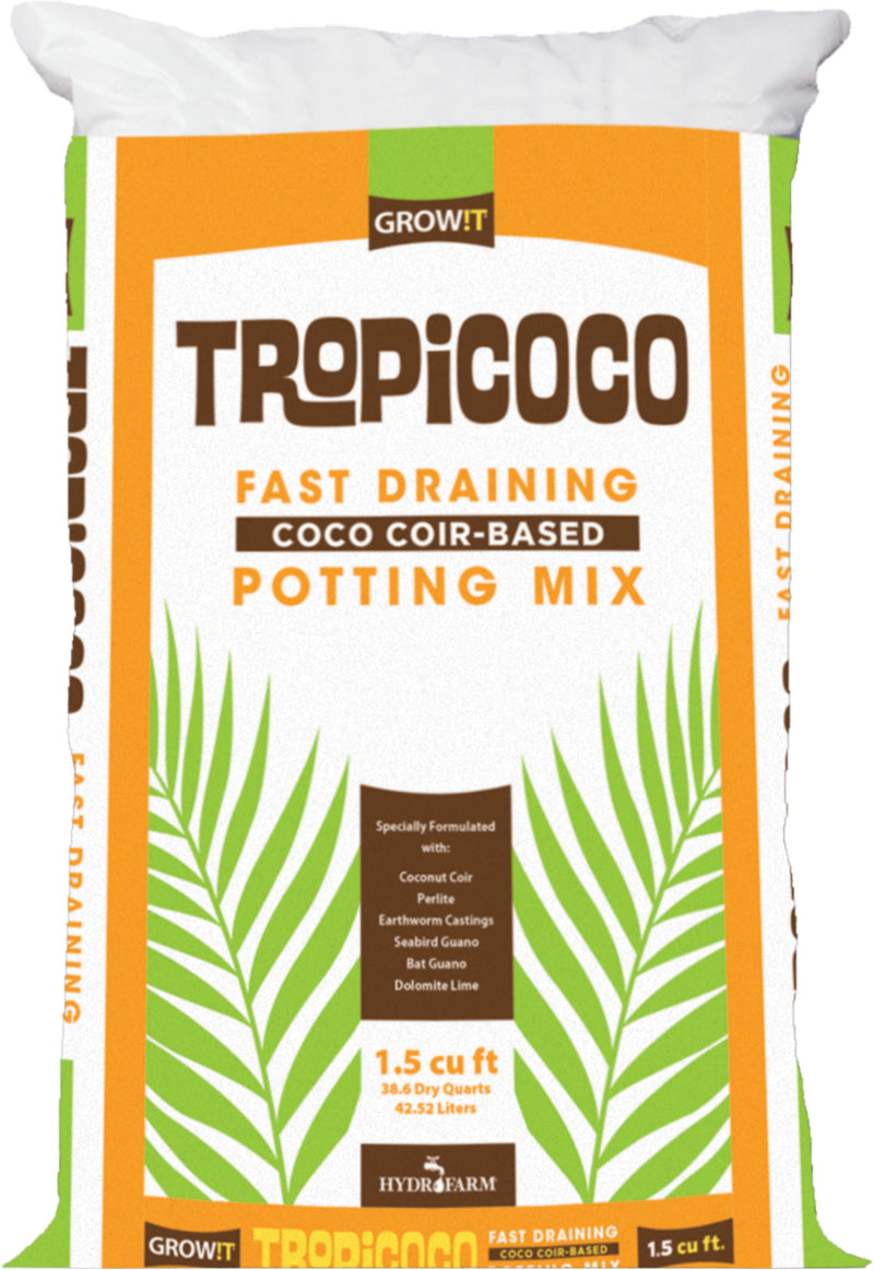 Tropicoco Fast Draining Potting Mix, 1.5 cu ft