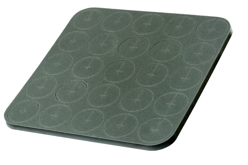 "Neoprene Inserts, 3"", sheet of 25"