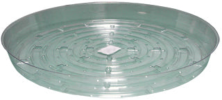 "Clear Saucer, 12"", pack of 10"