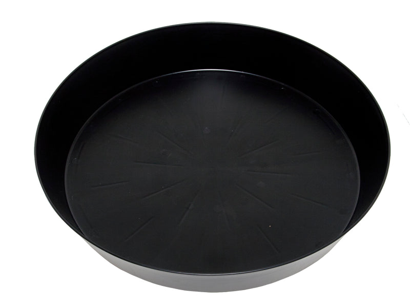 Super-Sized Black Saucer