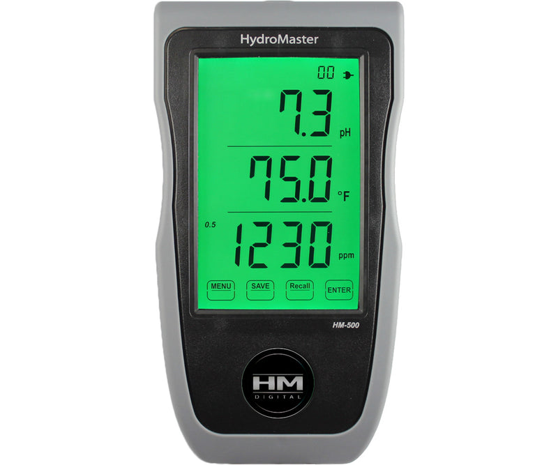 HM Digital HydroMaster Portable/Wall Mount/Bench Continuous pH/EC/TDS/Temp