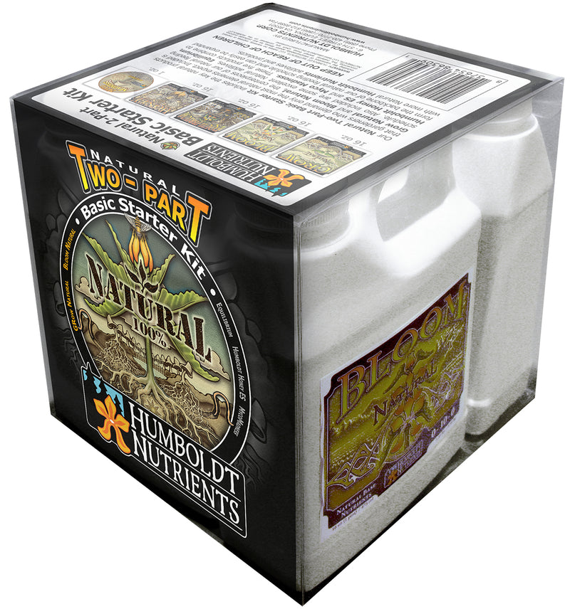 Humboldt Nutrients Natural 2-Part Box Starter Kit