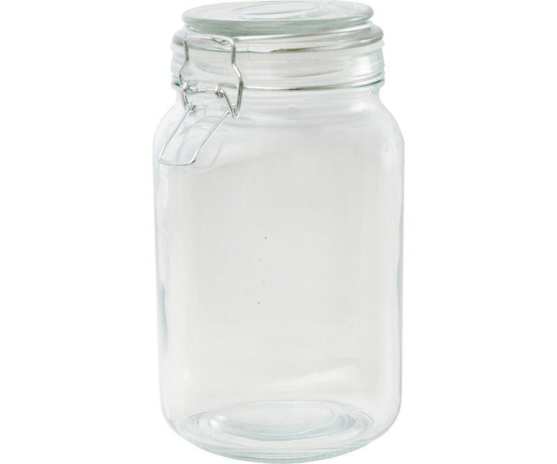 Private Reserve Spring Clamp Jars, 49 oz, pack of 6