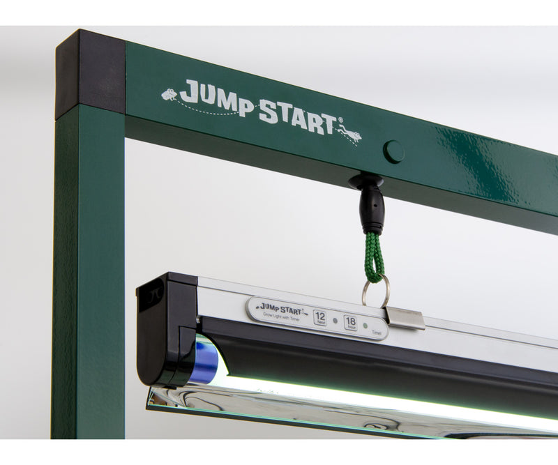 Jump Start 2' T5 Grow Light System with Timer(Stand, Fixture & Tube)