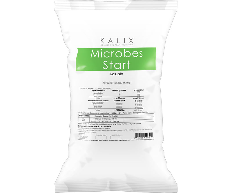 Kalix Microbes Start, 10 lb (soluble)