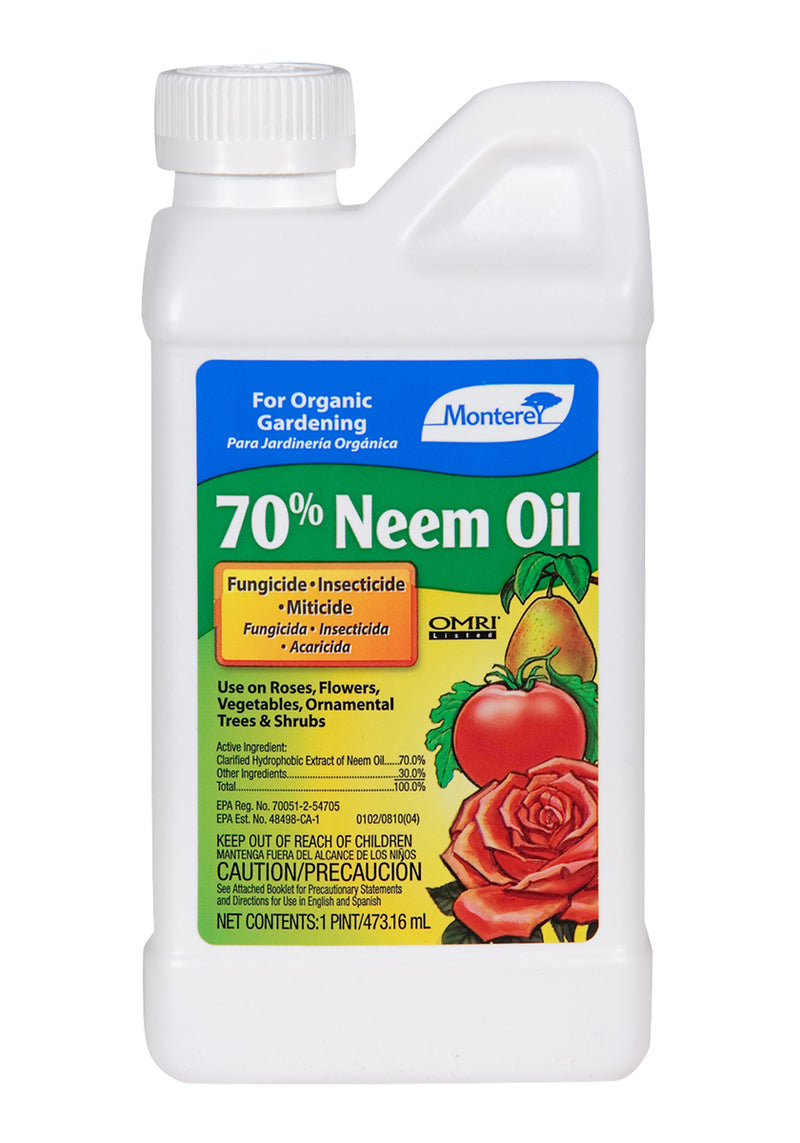 Monterey 70% Neem Oil, 1 pt, pack of 6