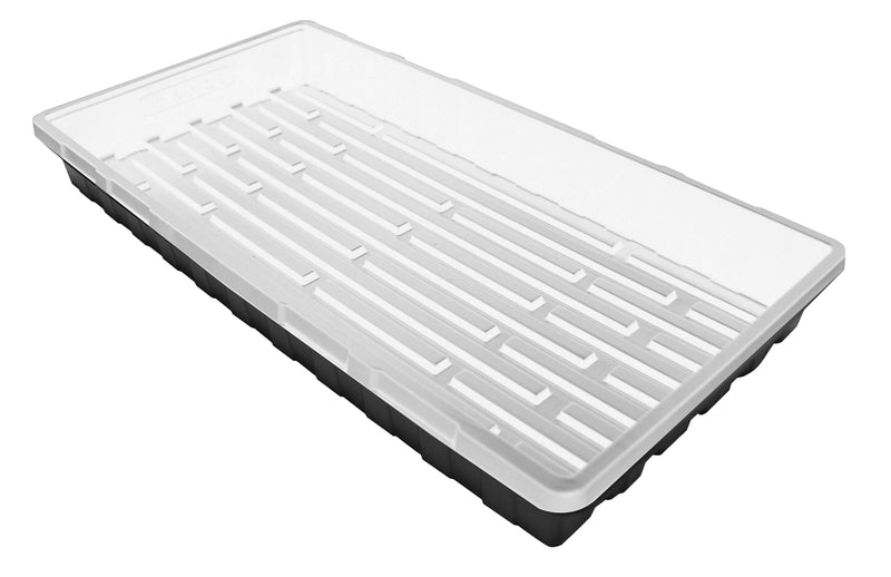 Mondi Black & White 10 x 20 Propagation Tray, No Holes