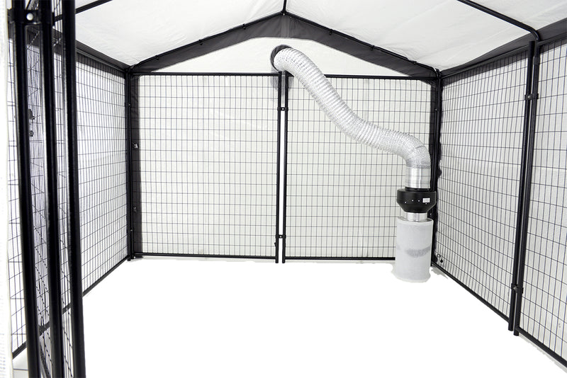 Saturday Solution Safe Grow Greenhouse, 10' x 10'