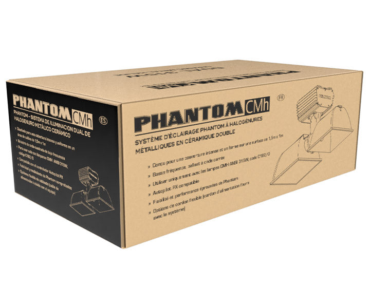 Phantom Dual 315W CMH Lighting System (No Lamps), 120/240V