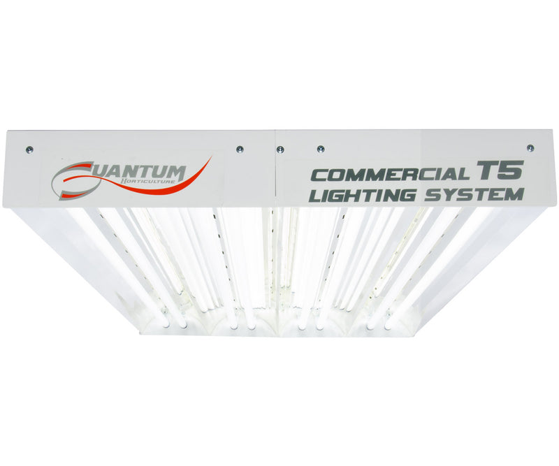 Quantum T5 432W 4' 8-Tube Fixture - No Lamps