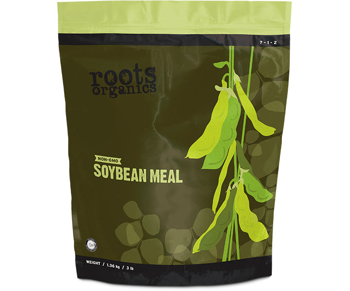 Roots Organics Non-GMO Organic Soybean Meal, 3 lb