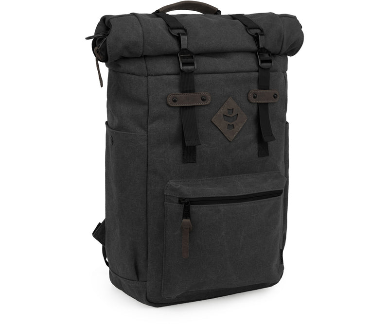 Revelry Supply The Drifter Rolltop Backpack, Smoke