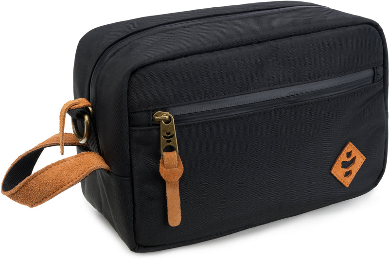 Revelry Supply The Stowaway Toiletry Kit, Black