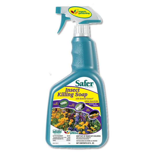 Safer Insect Killing Soap, 32 oz