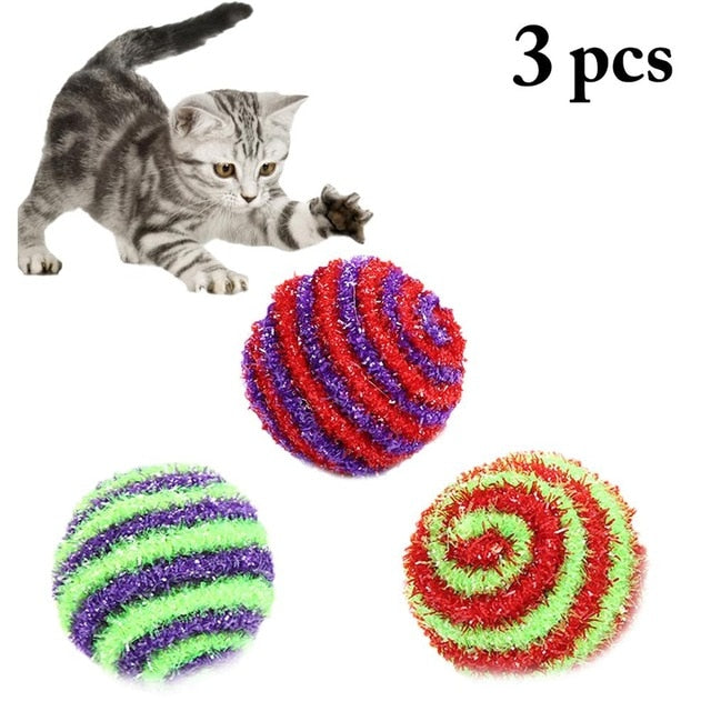 3pcs New Plush Simulation Mouse Cat Toy Plush Mouse Cat Scratch Bite Resistance Interactive Mouse Toy Palying Toy For Cat Kitten