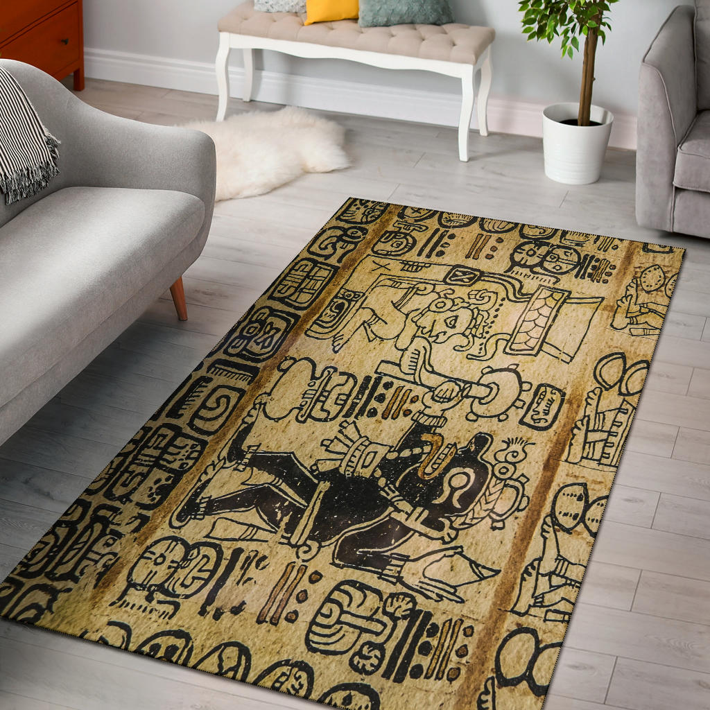 Aztec Trading Area Rug