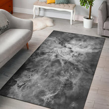 Load image into Gallery viewer, Greyscale Carina Nebula Rug